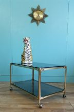 Mid century brass trolley - SOLD